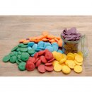 Candy Melts - Regenbogenmix - 240 g (rot, orange, gelb, grün, blau, violett)