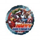 Folienluftballon Avengers Birthday