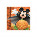 Mickey Halloween 20er Servietten 33x33 cm