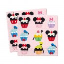 Three-Ply Paper Napkins Mickey&Friends CupCake 20er...