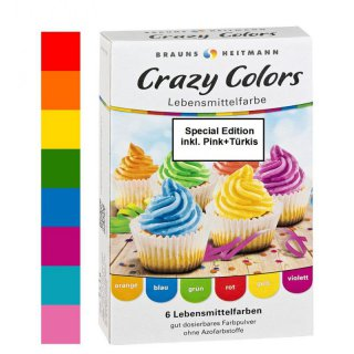 Brauns Heitmann Crazy Colors 8 x 4 g (Special Edition)