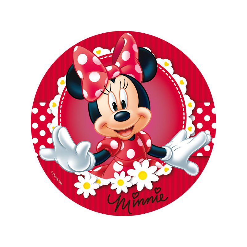 Baby Minnie Mouse Cake Topper