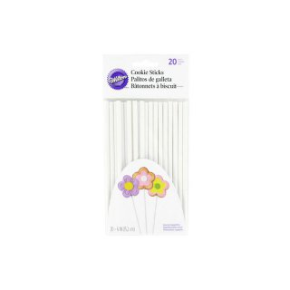 Wilton Cookie Treat Sticks 15cm - 20 Stück
